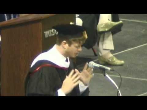 UW--Madison 2013 Spring Commencement: Anders Holm's Address ...