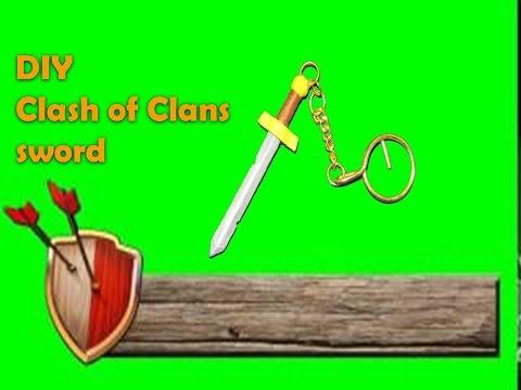 Clash Of Clan Sword DIY using Pencil