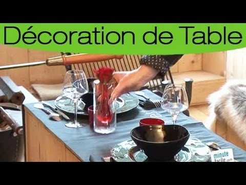 conseils pour d corer une table pour un diner en amoureux youtube. Black Bedroom Furniture Sets. Home Design Ideas