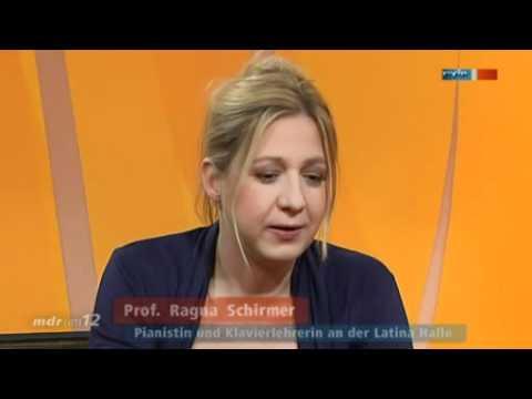 """Ragna Schirmer bei """"MDR um zwölf"""""""