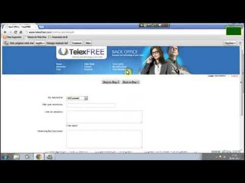 TELEXFREE (OFICIAL) Como Fazer Anúncios Em Uma Conta Family Da TelexFree?