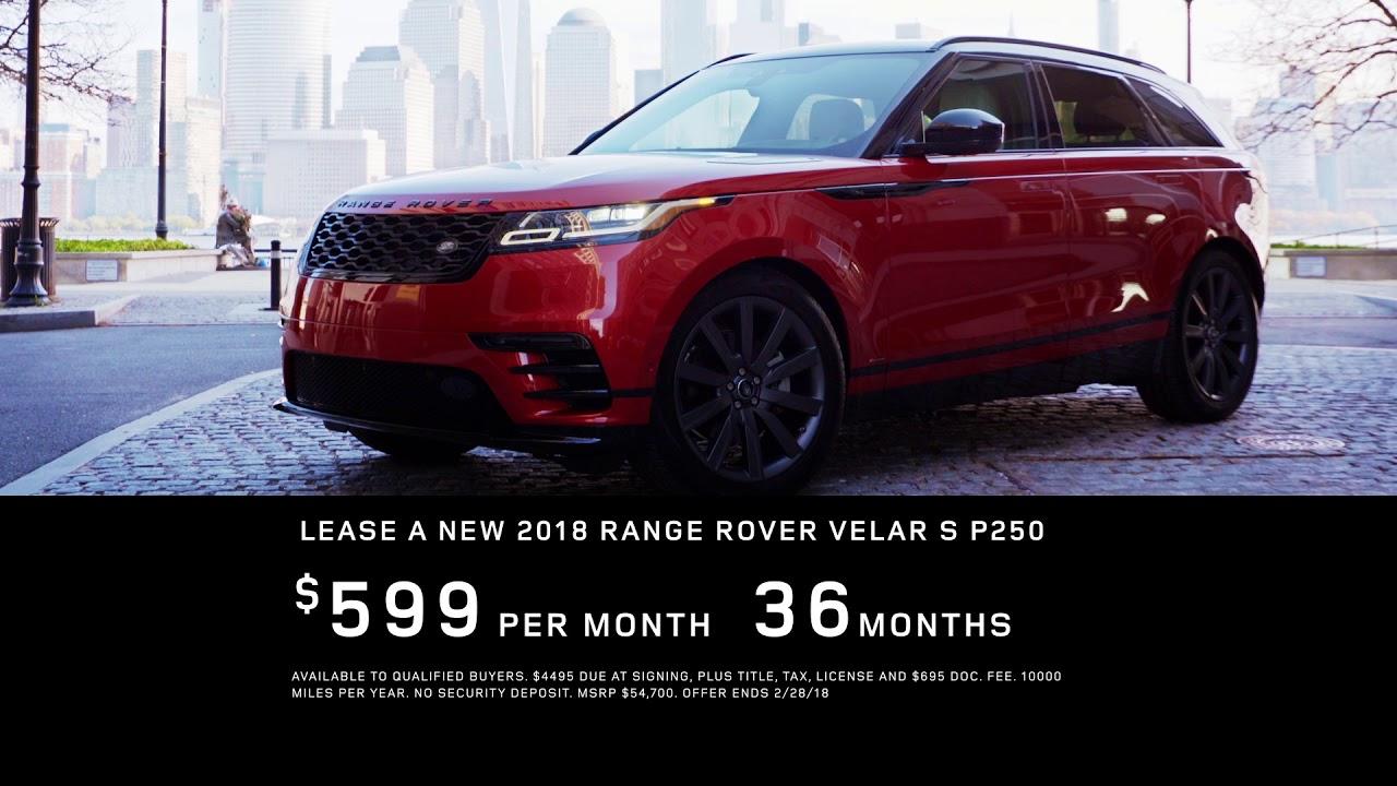 Land Rover Jacksonville >> Range Rover Velar Special Offer Step Up To Luxury At Land Rover Jacksonville