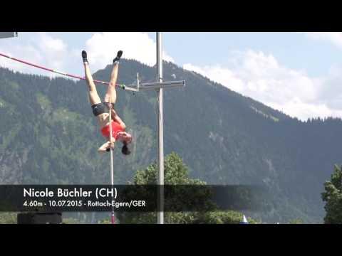 Nicole Büchler (CH) - 4.60m - 10.07.2015 - Rottach-Egern/GER