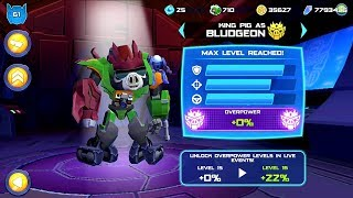 Angry Birds Transformers Gameplay - New Map New Update Max Level BLUDGEON