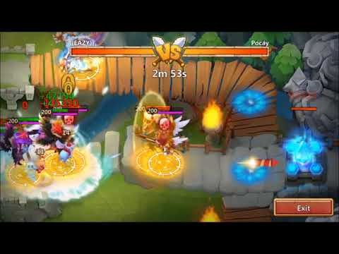 Arena Defense Glitch Part 1 Castle Clash