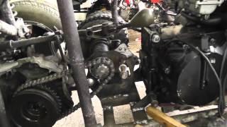 Build quad engine Kawasaki GPZ 600 4