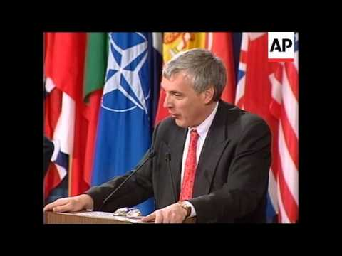 BRUSSELS: KOSOVO: NATO : PRESS BRIEFING
