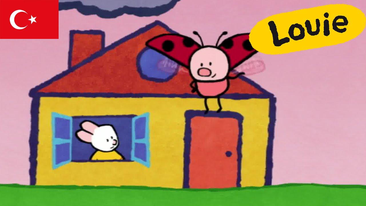 Louie Ev çiziyor S01e01 Hd çocuklar Için çizgi Filmler Youtube