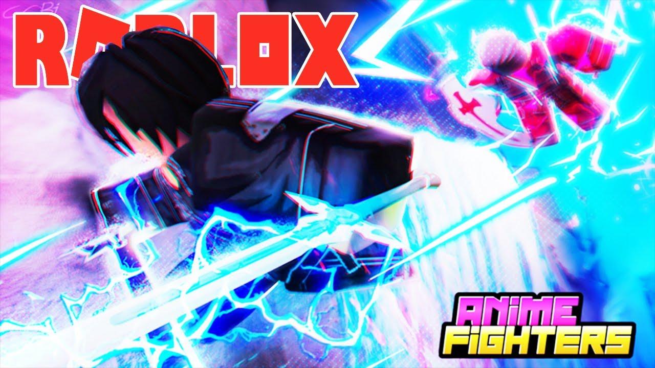 Roblox- UPDATE MỚi ANIME SWORD ART ONLINE MỞ ĐƯỢC HUYỀN THOẠI EUGEO - (CODE)Anime Fighters Simulator