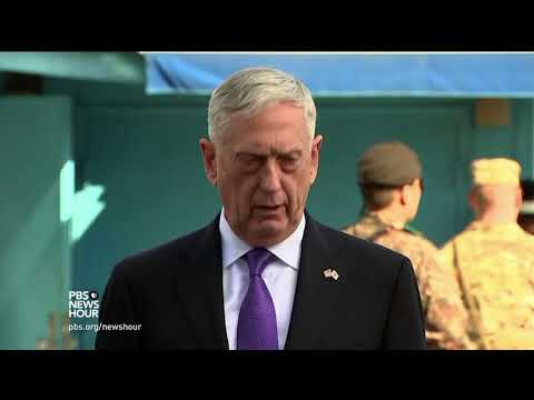 Download Youtube: Standing at the world's most dangerous border, Mattis sends a warning to North Korea