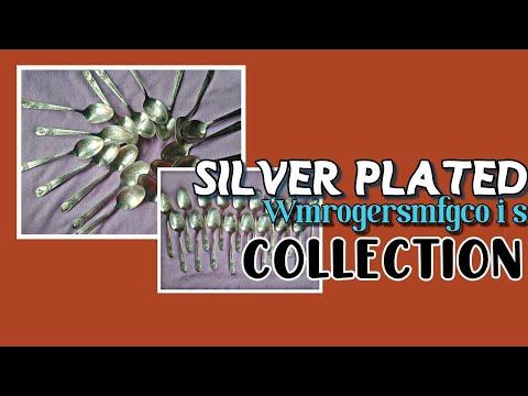 WM ROGERSMFG. CO I S Silver Plated Spoon