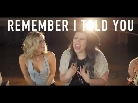 Nick Jonas - Remember I Told You (Cover by Leah Daniels and Stacey Kay)