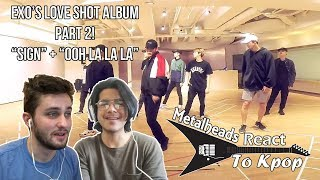Metalheads React to Kpop | EXO's 'Love Shot' album Part 2