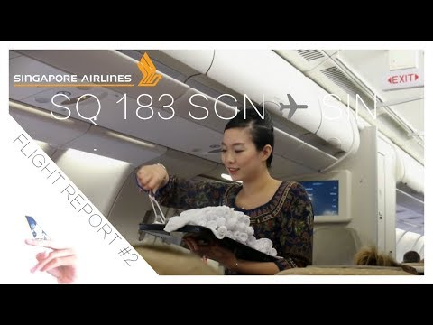 Singapore Airlines Flight Report: SQ183 Ho Chi Minh City to Singapore