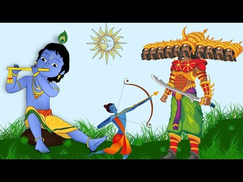 Indian Mythology | 5 Most Popular Stories For Kids | English Animated Cartoons | Bedtime Stories |