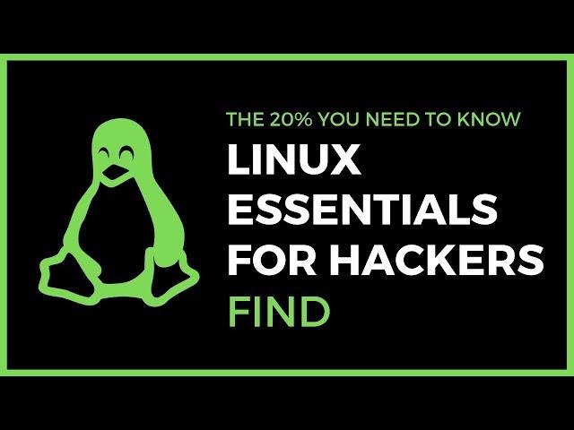 Linux Essentials For Hackers - #9 - Find + OverTheWire Bandit Challenge