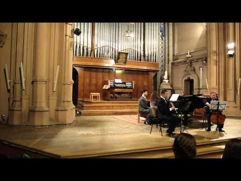 Ivan Kucher & Sasha Danilov: Kiev, Organ Hall. M.Bruch - 8 pieces