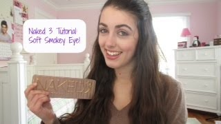 Naked 3 Palette Tutorial: Soft Smokey Eye! Thumbnail