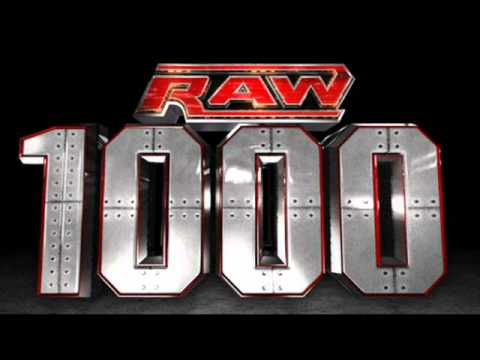 Theme Song Used for Raw 1000 1st promo