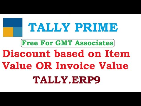 Discount based on item value OR invoice value