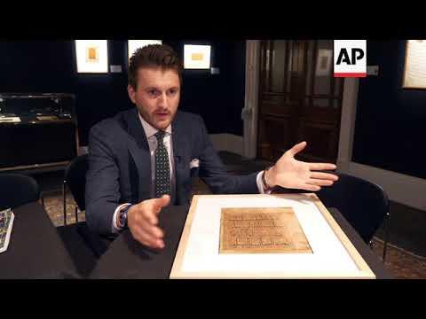 Islamic art goes under the hammer