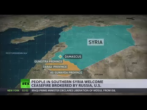 Chance for Peace: South Syria ceasefire agreed by Putin, Trump at G20 takes effect