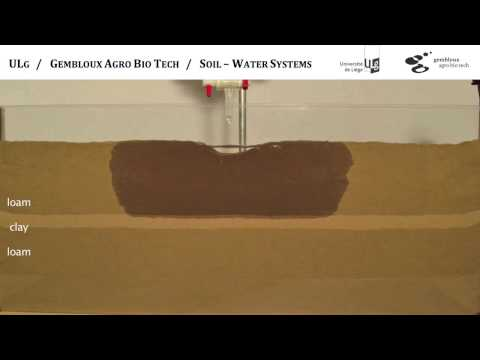 Water movement in the soil