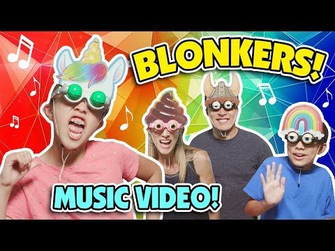 BLINK AND GO BLONKERS! (An official music video for Mattel's Blonkers!)
