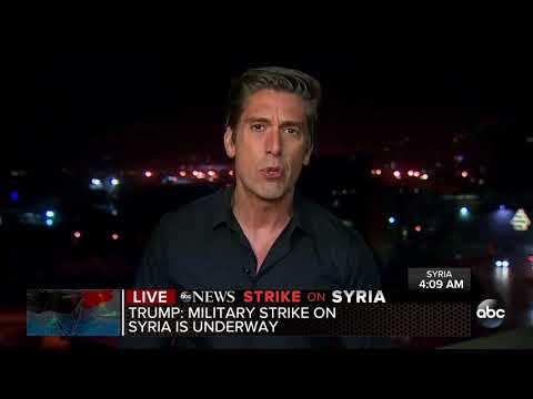 Trump retaliates, launches strike against Syria and Assad