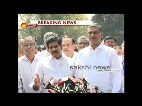 Harish Rao and Devineni Uma speaks to media over Nagarjuna Sagar water dispute