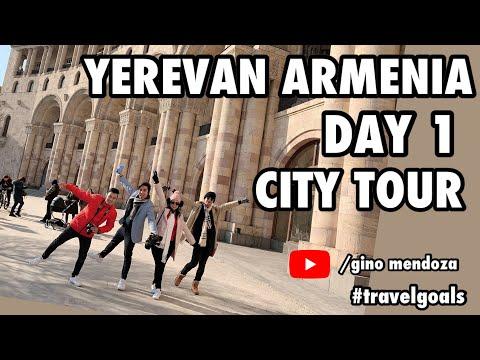 ARMENIA TRAVEL 2020 | DAY 1 CITY TOUR | Gino Mendoza