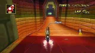 [MKWii TAS] N64 Bowser's Castle Flap - 0:47.963
