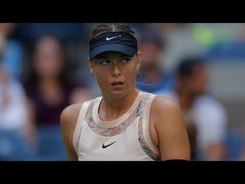 2017 US Open: Maria Sharapova R2 press conference