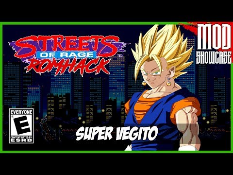 SUPER VEGITO | Streets of Rage 2 (HACK) [Retroarch - HD]