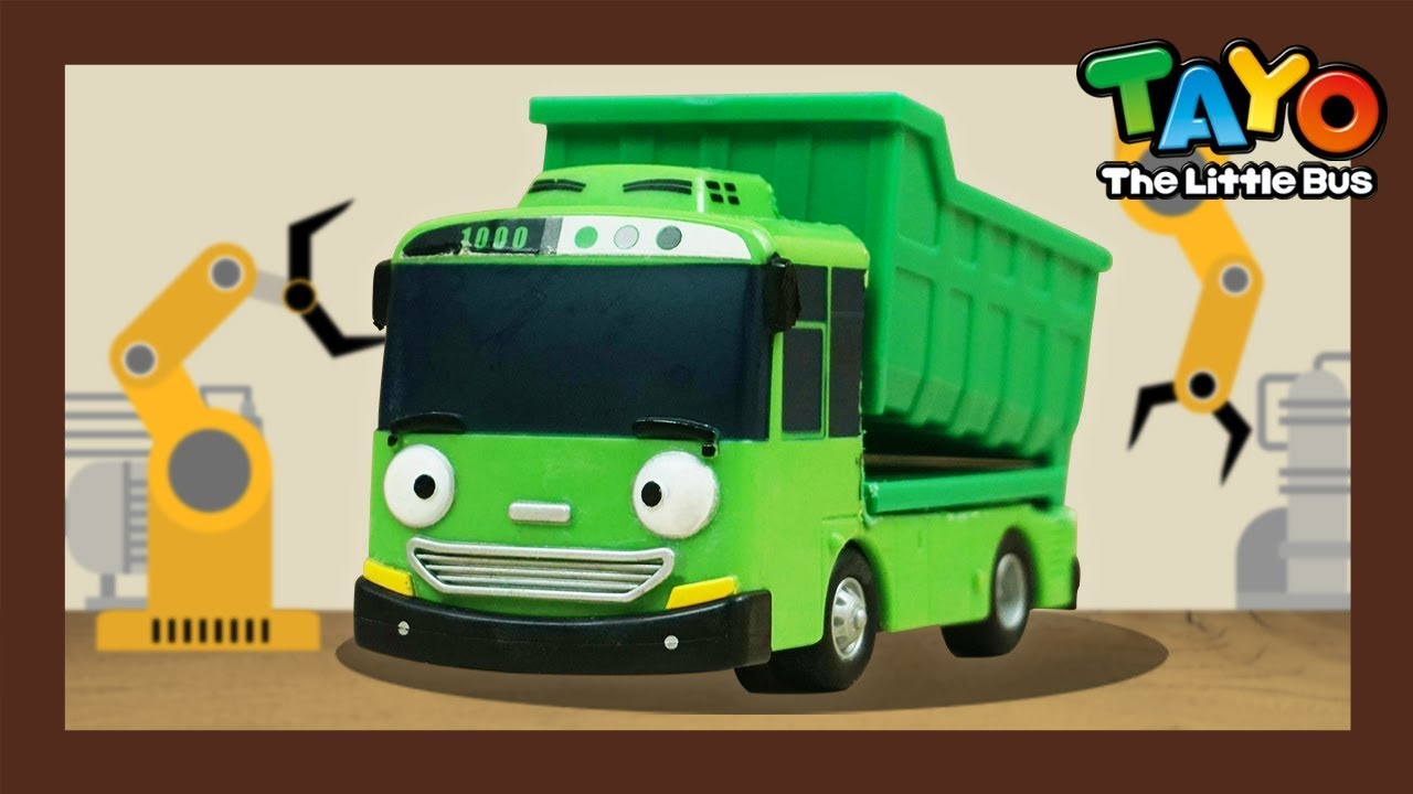 Download SuperCar Tayo #1 l How to make a SuperCar l Rogi and Max l Tayo the Little Bus