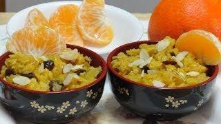 Orange Cranberry Oats Recipe for Breakfast by Bhavna