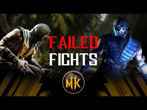 Mortal Kombat X - Failed Fights #1 |