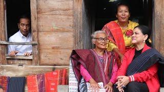Presiden Tinjau Desa Adat Ulos dan Pantai Indah Situngkir, Samosir, 30 Juli 2019