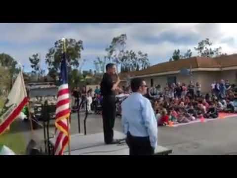 OCDA Todd Spitzer at Glen Yermo Elementary School with OCGRIP