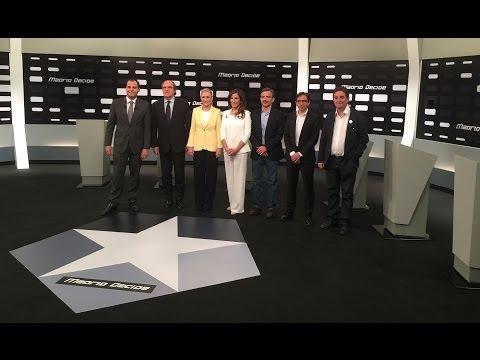 Debate de la Comunidad de Madrid en Telemadrid