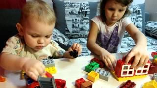 Лего Дупло Мой первый Пожарный участок 6138 #LegoDuplo