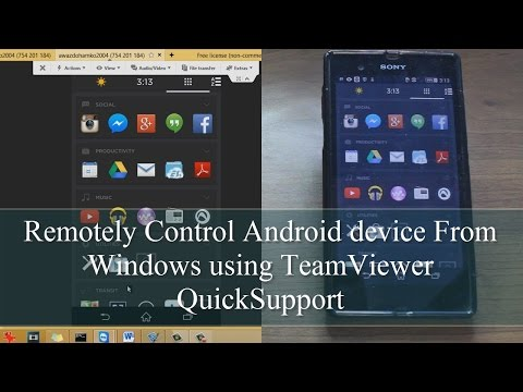 How to Control Android Remotely Using TeamViewer