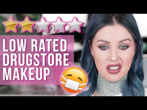 Testing Low Rated Cruelty-Free Drugstore Makeup | KristenLeanneStyle