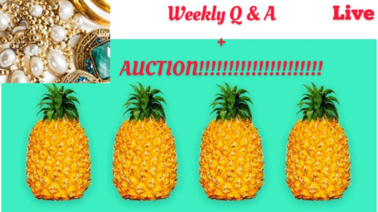Storage Legends Tuesday's Vintage WEEKLY LIVE YOUTUBE AUCTION ,