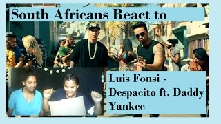 Luis Fonsi   Despacito MV South Africans React