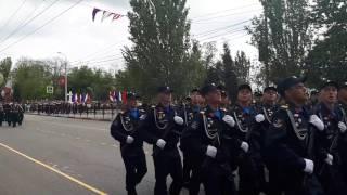 Случай на Параде Победы в  Керчи 2017