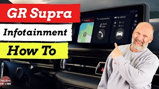 Infotainment How To - 2020 Toyota GR Supra
