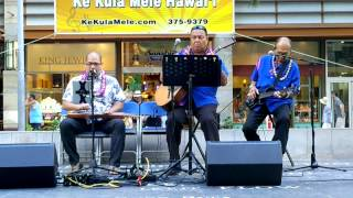 Waikiki Steel Guitar Festival - Ho'oulu Cabrinha - On A Little Street in Singapore & Ke Aloha