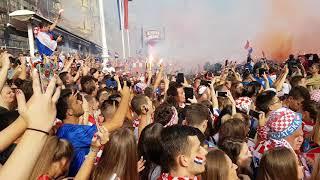 Óriási ünneplés - gólöröm a horvátoknál