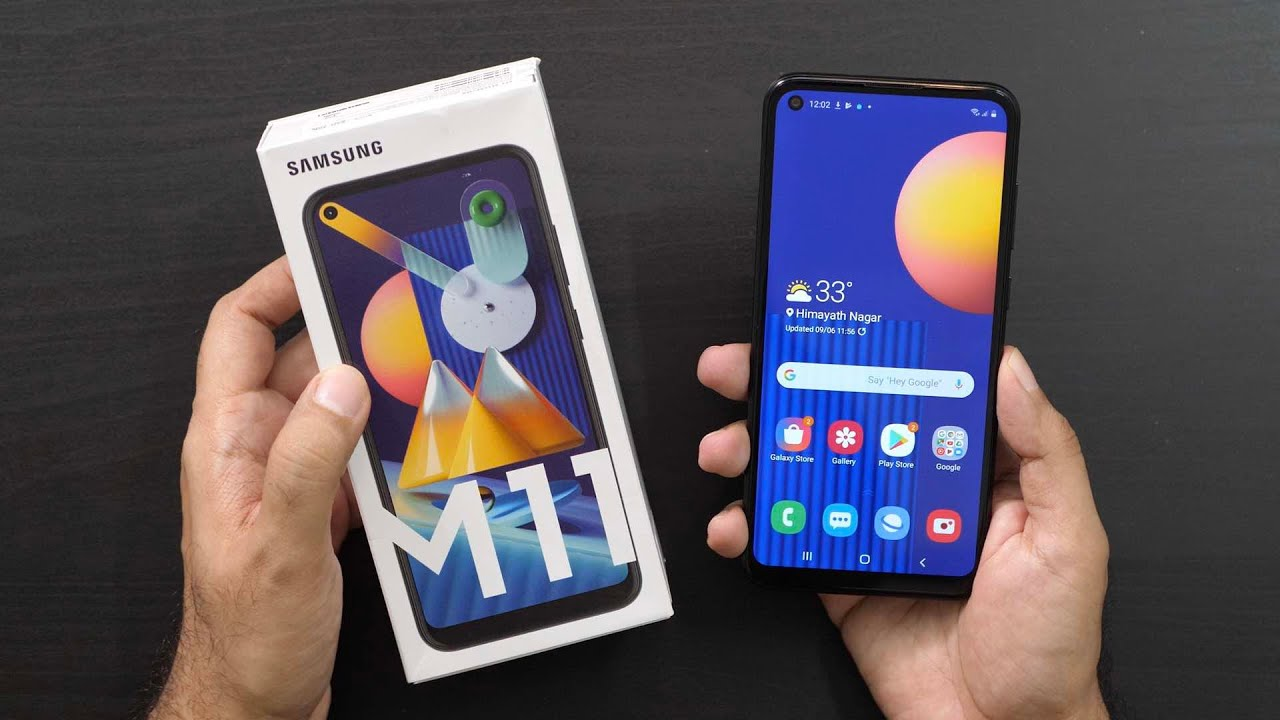 Samsung Galaxy M11 Unboxing Overview Youtube